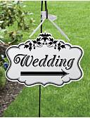 baratos Macacões & Macaquinhos-Casamento / Noivado / Festa de Casamento Madeira Decorações do casamento Tema Jardim Inverno Primavera Verão Outono
