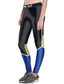 voordelige Damesleggings-Dames Dagelijks Grote maten Sportief Legging - Kleurenblok, Print Medium Taille / Lente / Zomer / Herfst / Skinny