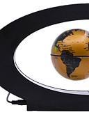billige Brudepikekjoler-Flytende Globe Globe Magnetisk levitasjon Gutt Jente 1 pcs Deler ABS Leketøy Gave