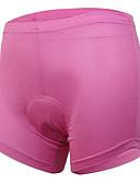 baratos Vestidos de Mulher-Arsuxeo Mulheres Cueca Boxer Acolchoada - Preto Rosa claro Moto Shorts Shorts Acolchoados Shorts Roupa interior, Secagem Rápida, Design