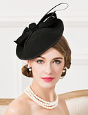 cheap Women's Two Piece Sets-Wool / Feather Fascinators / Hats with 1 Wedding / Special Occasion / Casual Headpiece