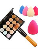 זול חזיות-15 צבעים באלם קונסילר / קונטור מברשות איפור פנים איכות גבוהה להשלים קוֹסמֵטִי