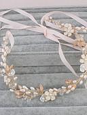 hesapli Gelinlikler-İnci Çiçek - Headbands / Başlık 1pc Düğün / Özel Anlar / Günlük Başlık