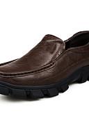 preiswerte Herrenhemden-Herrn Komfort Schuhe Nappaleder Frühling / Sommer / Herbst Loafers & Slip-Ons Schwarz / Dunkelbraun / Hochzeit / Party & Festivität