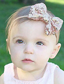 preiswerte Kleider für die Blumenmädchen-Mädchen Jungen Haarzubehör Baumwolle Satin Stirnbänder - Schwarz Silber Rote Rosa Purpur