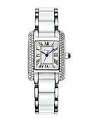 baratos Quartz-Mulheres Relógio de Pulso Venda imperdível Lega Banda Luxo / Fashion / Elegante Azul / Prata