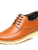 رخيصةأون ربطات العنق للرجال-للرجال أحذية جلدية جلد ربيع / خريف أوكسفورد مقاوم للماء أسود / أصفر / بني / الحفلات و المساء