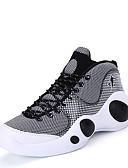 זול טישרטים לגופיות לגברים-בגדי ריקוד גברים פשתן אביב / סתיו נוחות נעלי אתלטיקה כדורסל שחור / אדום