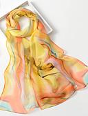 abordables Bufandas de Raso Chics-Mujer Estampado, Raso Rectángulo - Fiesta / Bonito