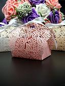 billige Gaveesker-Rund Kvadrat Kreativ Perle-papir Gaveholder med Bånd Printer Favoritt Esker