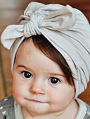 halpa Lasten Hatut ja lippikset-Taapero Poikien / Tyttöjen Puuvilla Hatut ja lippikset Punastuvan vaaleanpunainen / Harmaa / Purppura Yksi koko / Hiukset Tie