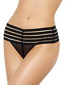 abordables Panties-Mujer Panti Ultrasexy Un Color Cintura Media