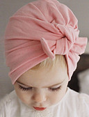 cheap Evening Dresses-Girls' Boys' Hats & Caps Cotton Hair Tie - White Red Blushing Pink Gray Purple