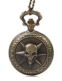 abordables Relojes de Bolsillo-Hombre Reloj de Bolsillo Reloj Casual Tejido Banda Vintage Bronce / Rose / SSUO LR626