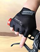 preiswerte Radtrikots-SANTIC Sporthandschuhe Fahrradhandschuhe Atmungsaktiv Wasserdicht Anti-Rutsch Schützend Schweißtransportierend Stoßfest Fingerlos Elastan