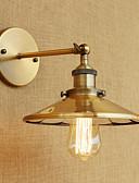 voordelige Bruidsmeisjesjurken-Rustiek / landelijk / Retro / Landelijk Wandlampen Metaal Muur licht 110-120V / 220-240V 40 W / E26 / E27