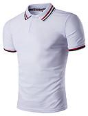 povoljno Muške polo majice-Polo Muškarci Geometrijski oblici Kragna košulje