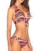 baratos Vestidos de Noite-Mulheres Nadador Biquíni - Arco-Íris