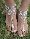 halpa Häähunnut-Barefoot-sandaalit - Lintu Muoti Hopea Käyttötarkoitus Häät / Party / Halloween / Naisten