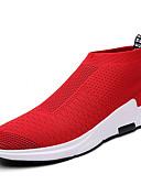 abordables Pantalones y Shorts de Hombre-Hombre Tul Primavera / Otoño Confort Zapatillas de deporte Negro / Gris / Rojo