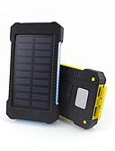 Недорогие Внешние аккумуляторы-Назначение Внешняя батарея Power Bank 5 V Назначение # Назначение Зарядное устройство Водонепроницаемость / Подсветка / Несколько разъемов LED