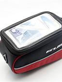 baratos Macacões & Macaquinhos-Bolsa Celular / Bolsa para Quadro de Bicicleta 5.7 polegada Sensível ao Toque Ciclismo para iPhone 8 Plus / 7 Plus / 6S Plus / 6 Plus / iPhone X / Samsung Galaxy S8 / S7 / Note 7 Laranja