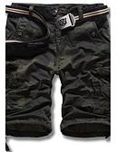זול מכנסיים ושורטים לגברים-בגדי ריקוד גברים וינטאג' / יום יומי / פעיל ישר / שורטים מכנסיים להסוות