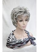 preiswerte Büstenhalter-Synthetische Perücken Locken Synthetische Haare Perücke Damen Kurz Kappenlos