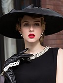 cheap Women's Hats-Flax / Satin Hats with 1 Wedding / Special Occasion / Casual Headpiece