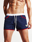 cheap Men's Swimwear-Men's Bottoms - Color Block, Print Swim Trunk