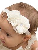 billige Barn Hodeplagg-Baby Unisex Tweed / Chiffon Hårtilbehør Rosa / Beige / Lilla En Størrelse / Pannebånd