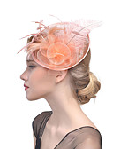 cheap Women's Headpieces-Women's Hat / Solid Color / Mesh Acrylic Hair Clip