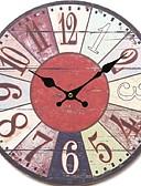 رخيصةأون فساتين الاشبينات-أنتيك كاجوال تقليدي زهري رجعي مكتب/الأعمال خشب دائري داخلي,البطارية