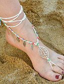 cheap Women's Belt-Barefoot Sandals - Leaf Bohemian Brown / Red / Pinky For Daily Casual Women's