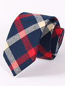 cheap Men's Ties & Bow Ties-Men's Neckwear Necktie - Color Block