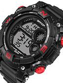 baratos Relógio Esportivo-Homens Relógio Esportivo Relógio inteligente Relógio de Pulso Digital 30 m Calendário LED Monitores de Atividades Esportivas Silicone Banda Digital Casual Fashion Preta - Prata Vermelho Azul