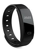 levne Měřič aktivity, klipsy a náramky-Pánské Digitální Inteligentní hodinky čínština Kalendář Monitor pulsu Voděodolné Krokoměry tachometr Měřidla pro fitness Rychloměr Silikon