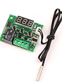 billige Sokker og strømper-12v dc digital kjøling / termostat termostatregulering -50-110 c temperaturregulator 10a relé med vanntett sensorsonde