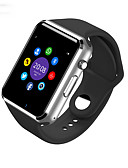 olcso Okosórák-Intelligens Watch W8 mert Android Elégetett kalória / Hosszú készenléti idő / Kéz nélküli hívások / Érintőképernyő / Fényképezőgép Dugók & Töltők / Hívás emlékeztető / Testmozgásfigyelő / Alvás