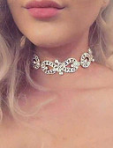 cheap Mother of the Bride Dresses-Women's Choker Necklace - Infinity Luxury, Fashion, Euramerican Gold, Silver Necklace For Wedding, Party