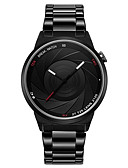 cheap Quartz Watches-Men's Wrist Watch Japanese Casual Watch Stainless Steel Band Casual / Fashion Black