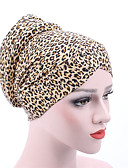 cheap Fashion Hats-Women's Active Cotton Floppy Hat - Floral Leopard Pleated