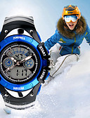 cheap Quartz Watches-Men's Sport Watch / Smartwatch / Wrist Watch Chinese Calendar / date / day / Water Resistant / Water Proof / Creative Silicone Band Charm / Fashion / Dress Watch Multi-Colored / Large Dial