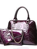 رخيصةأون فساتين طويلة-للمرأة أكياس PU مجموعات حقيبة 3 قطع محفظة مجموعة ذهبي / أسود / أرجواني