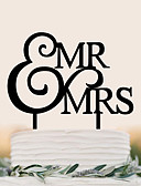 levne Pro malé družby-Figurky na svatební dort Narozeniny Svatba Vysoká kvalita Plastický Svatební Narozeniny s 1 Taška z PVC