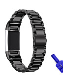 cheap Men's Tees & Tank Tops-Watch Band for Fitbit Charge 2 Fitbit Sport Band Stainless Steel Wrist Strap