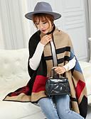 olcso Női pulóverek-Női Bő Hosszú Kardigán Színes V-alakú / Tavasz