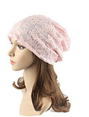 cheap Fashion Hats-Women's Headwear Cute Chic & Modern Knitwear Cotton Lace Beanie / Slouchy Floppy Hat - Jacquard Lace