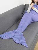cheap Men's Sweaters & Cardigans-Emergency Blanket Blanket Travel Blanket Casual/Daily Mermaid