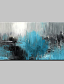 cheap Robes & Sleepwear-Oil Painting Hand Painted - Abstract Abstract Modern Canvas